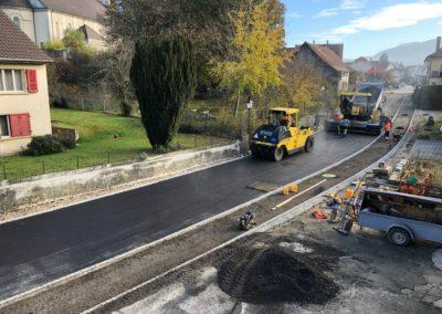 Courgenay / Aménagement de la rue du Bourg et de la route de Metthiez